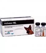 Нобивак RL Вакцина против бешенства и лептоспироза собак