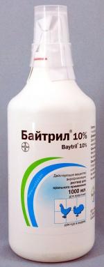 Байтрил 10% раствор для орального применения, 1л